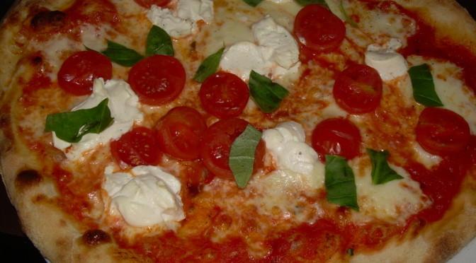 Ricotta pizza