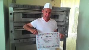 Pizzaiolo Natalino Frigenti
