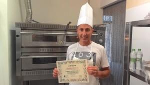 Pizzaiolo Gianluca Ferrero