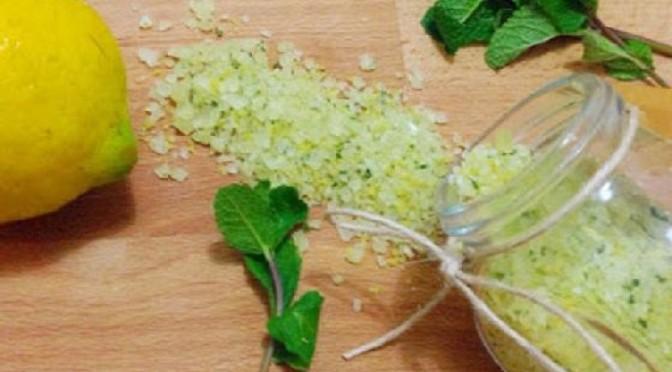 Sale Aromatizzato al Limone Come Prepararlo