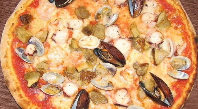 Ricetta Pizza Mare e Monti