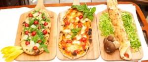 Pizza Tipo Pinsa Romana