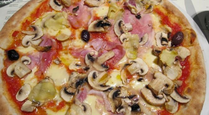 Pizza Capricciosa Con Farina Integrale