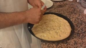 Pizza Con Fagioli
