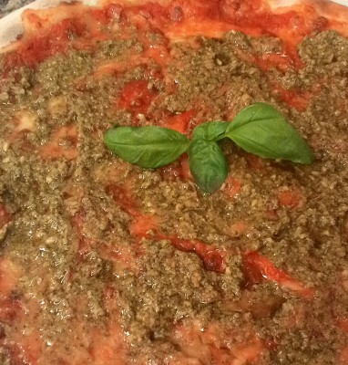 Pizza Al Pesto