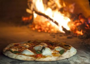 Baking in a wood oven