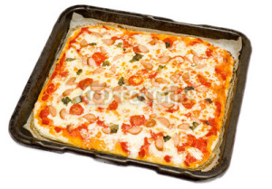 Pizza il teglia