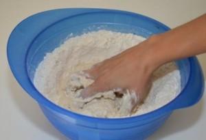 Dough for homemade pizza