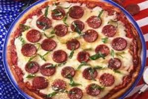 A pizza nos EUA