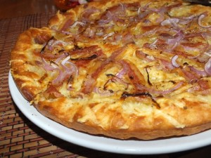 pizza pancetta