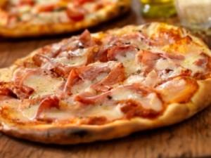 jamón de pizza