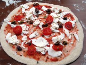 pizza pulcinella ricotta