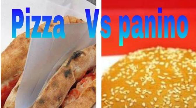 pizza contro panino