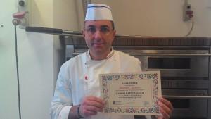 Pizzaiolo Manuel Afonso