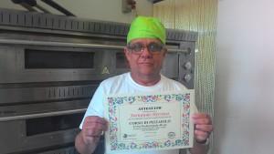 Pizzaiolo Fernando Herrera