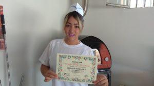 Pizzaiola Viviane Hitome