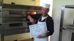Pizzaiolo Angelo Volpe