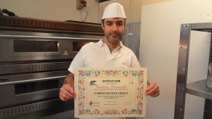 Pizza chef Gianluca Perciavalle