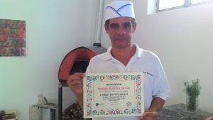 Pizzaiolo Rodolfo Barrera Torres