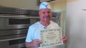 Pizzaiolo Rogerio Hernandes