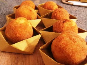 How To Make The Arancini Siciliani Rice