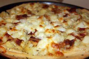 Focaccia Patate e Pancetta.