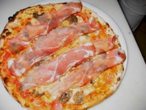 Pizza Speck e Gorgonzola