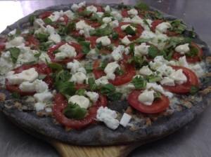 Impasto Pizza Nero al Carbone Vegetale