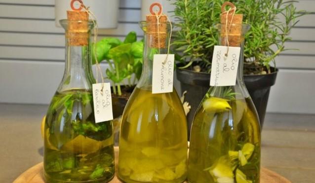 Olio Aromatizzato al Basilico