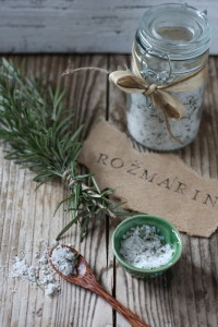Salt Flavored With Rosemary As preparation of this dish