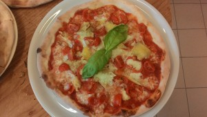 Pizza Carciofini e Pomodorini