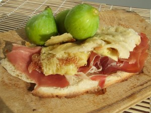 Focaccia With Ham And Figs
