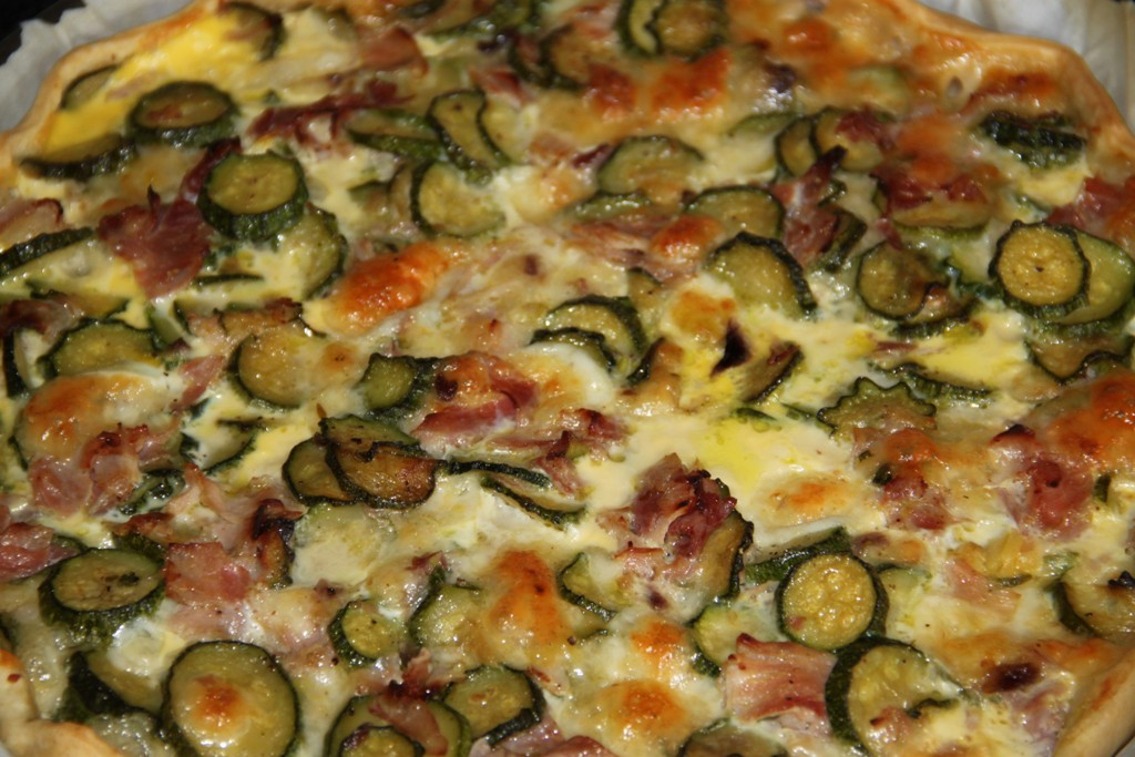 Pizza Tonno e Zucchine