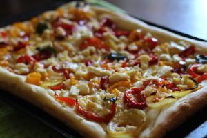 Pizza Contadina a receita original