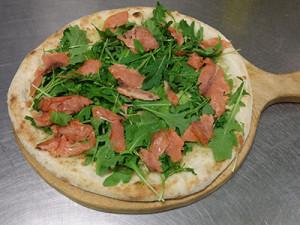 Pizza Rucola e Salmone