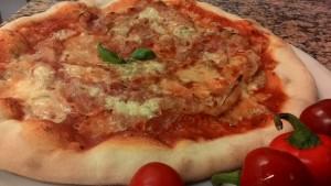 Pizza Pancetta e Gorgonzola Piccante