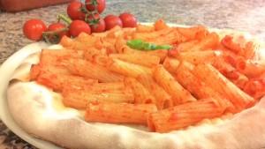 Pizza Rigatoni Alla Amatriciana