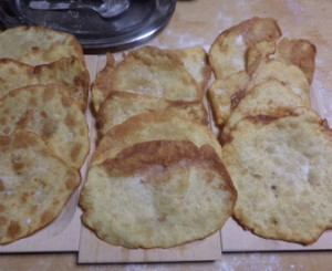 The Cresciole Marchigiane Pizza Fried