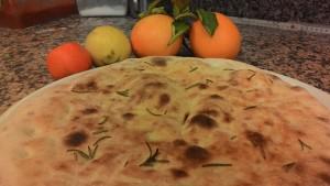 Focaccia dough At Citrus