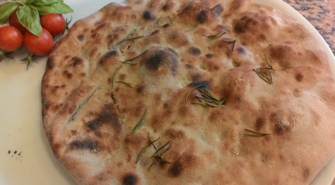 Focaccia With Dough At Chestnuts