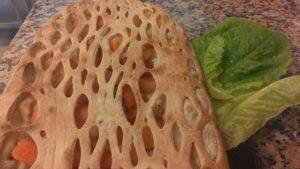 Pizza Dessert Melone e Albicocche
