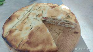 Pizza Parigina con Verdure Tonno e Alici