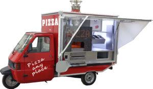 La Pizza su tre ruote Ape Pizza