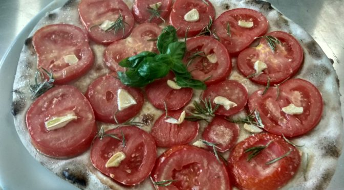 Focaccia With Tomatoes Roast Recipe and Preparation
