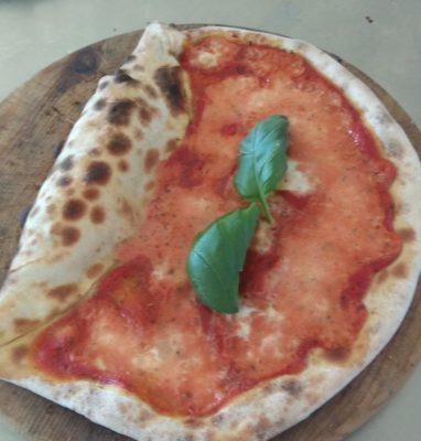 The Vesuvio Pizza Recipe and Preparation