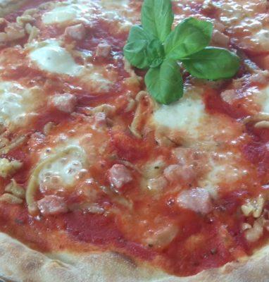 Pizza Con Melanzane e Pancetta La Ricetta