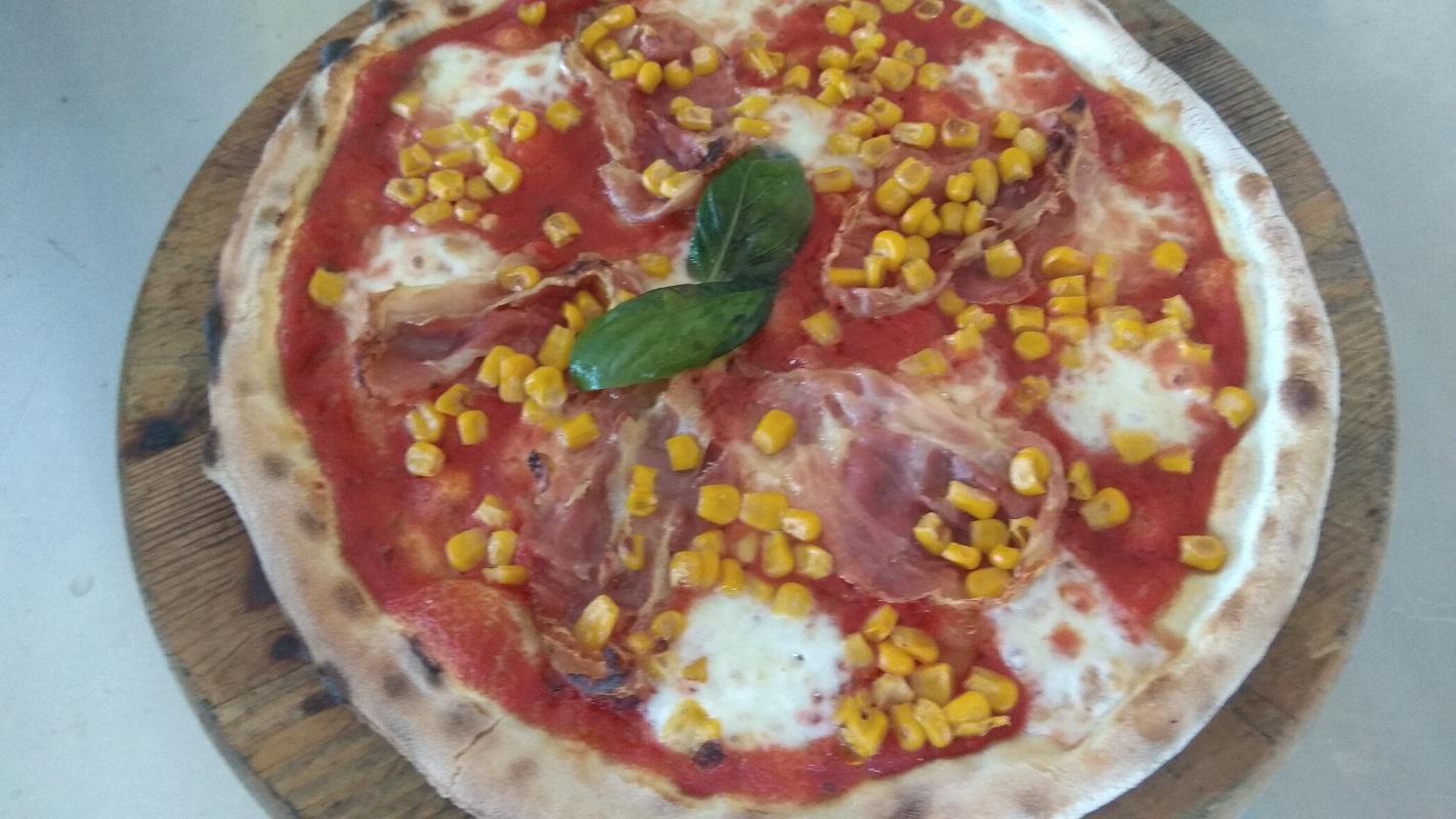 Pizza Con Pancetta e Mais La Ricetta