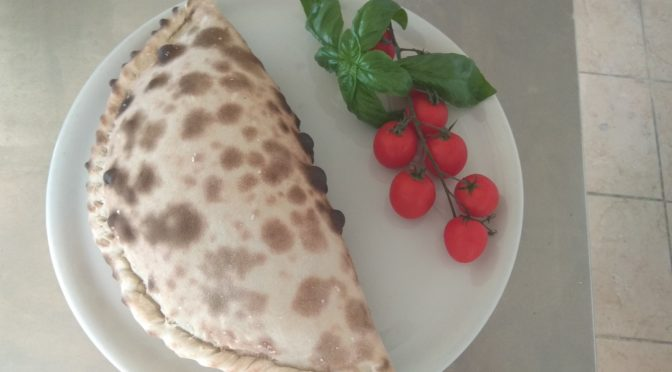 The Eastern Calzone With Stuffing Momo
