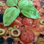 Focaccia Impasto di Patate con Pomodorini e Olive