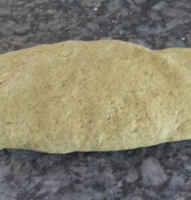 A Focaccia With Pumpkin Flour